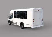 Low poly модель Ford Transit
