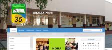 Сайт школы №35  г.Киев