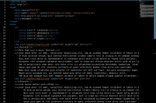 Верстка Html, без подключения CSS