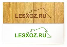Логотип для сайта lesxoz.ru