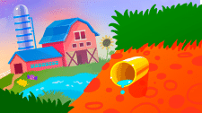 Ферма иллюстрация