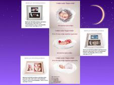 Буклет для слепков ручек и ножек новорожденных