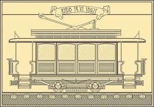 Реконструкция чертежа первого киевского трамвая