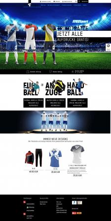 Магазин Футбольной форми