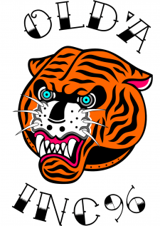 Tiger logo oldschool
