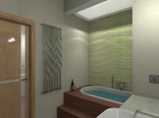 Ванная комната для семейной пары