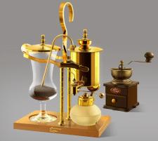 Кофемолка и кофеварка