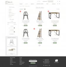 UX/UI дизайн интернет магазина каталога