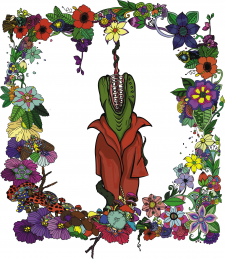 Creepy Venus' flytrap
