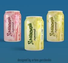 Дизайн этикетки лимонада