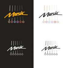 Логотип для музыкального информационного сайта