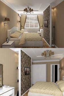 Квартира в Одессе (Спальня)