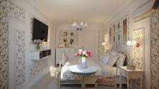 "Дизайн спальни ""Provence"""