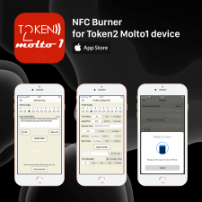 NFC Burner for Token2 Molto1 device