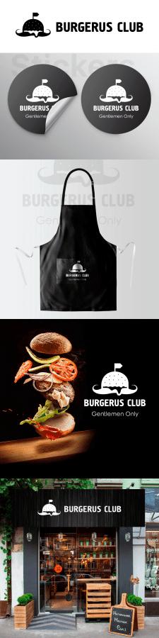 Фирменный стиль Burgerus Club