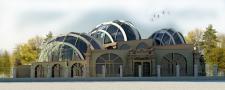 Фасад оранжереи