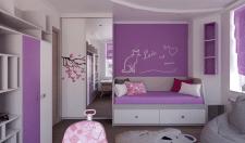 Дизайн интерьера детской  2-х комнатной квартиры