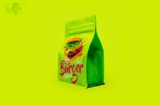 Дизайн упаковки для бургерной