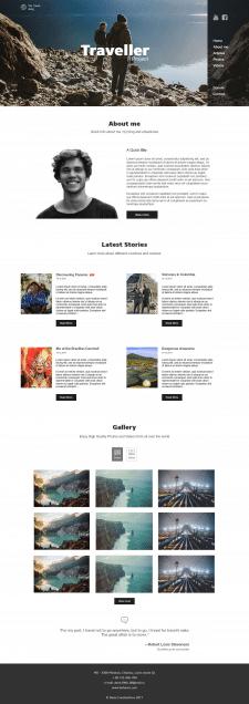 Дизайн онлайн-блога