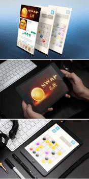 дизайн к игре SWAP ball