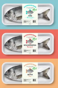 упаковка рыбы