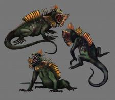 монстр рептилия