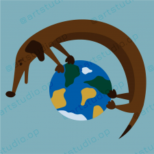 Проста Flat-ілюстрація