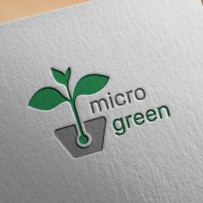 Логотип Microgreen