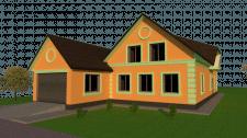 Дизайн фасада в Sketchup
