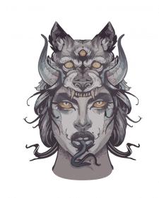 Demonic girl
