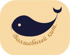 Логотип Волшебный кит