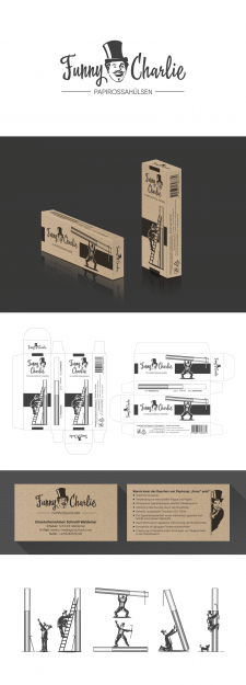 Дизайн лого для ТМ и упаковки для папиросных гильз