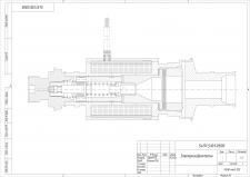 Электропневмоклапан в AutoCAD