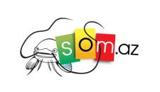 Разработка логотипа для сайта som.az