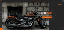Промо-сайт Harley Davidson