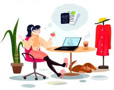 Иллюстрация для юр. сервиса