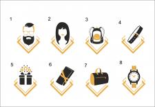 Иконки для сайта сумок, аксессуаров