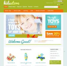 """Веб-сторінка """"KIDSSTORE"""""""