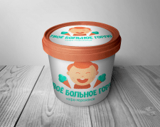 Логотип мороженого