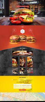 "Сайт ""Lobster&Burger"""