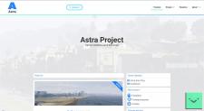 Сайт игрового проекта