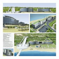 Гостиничный комплекс в Черноморске