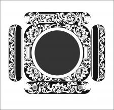 Эскиз для гравировки корпуса часов