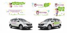 Разработка брендирования авто для детского сада