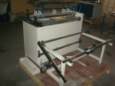 Подъёмник с устройством раскатки