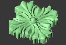 3D-модель розетки для станка ЧПУ