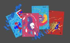 Векторные иллюстрации для открыток