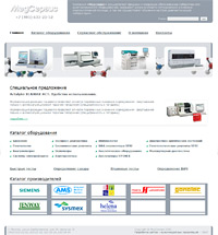 Сайт «Медсервис»
