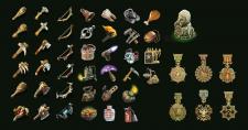 Набор предметов для игры