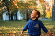 Детская сьёмка в парке